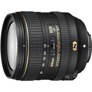 NIKON Lens 16-80mm f2.8-4E ED VR AF S DX GARANZIA NITAL 4 ANNI