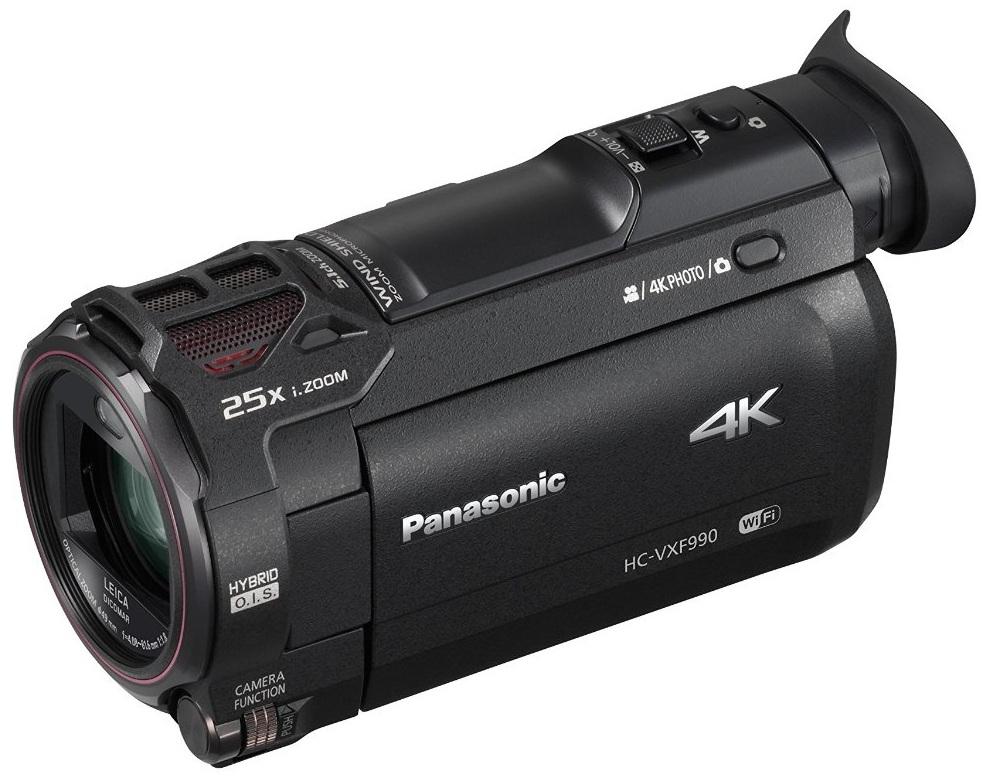 Panasonic hc vxf990 camera wireless 4k leica garanzia 4 for Garanzia senza scontrino