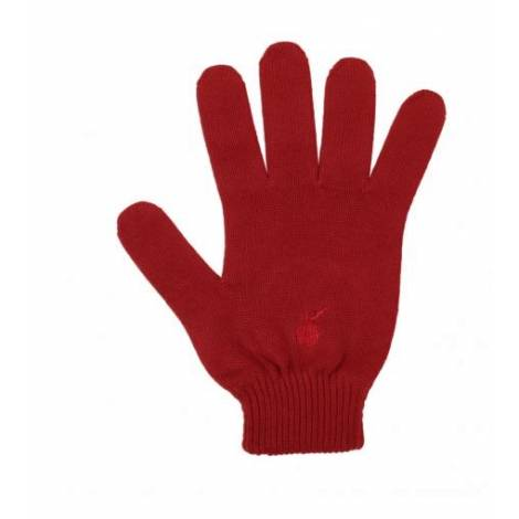 Tribeca Ny My Glove Guanti Touch Sport Taglia 2 red rosso Made in Italy
