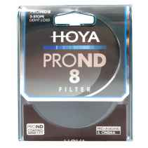 Filtro Hoya PRO ND 500 9 stops light loss 77mm diam