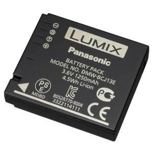 Panasonic Batteria DMW-BCJ13 per LX5 Garanzia Fowa ORIGINALE !!