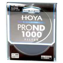 Filtro Hoya PRO ND 500 9 stops light loss 62mm diam