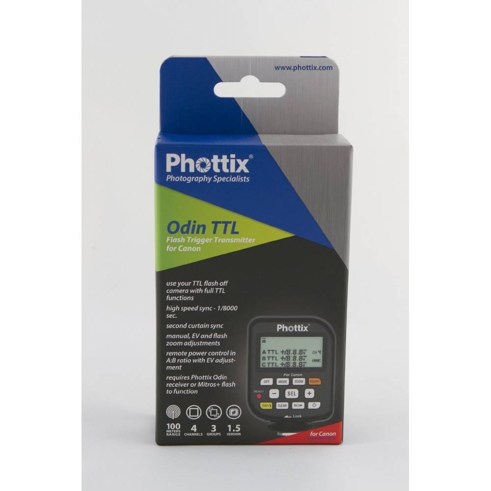Phottix Odin TTL solo Trasmettitore  per Canon  flash Trigger Transmitter for  Canon