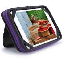 Case Logic QTS-208 Viola Custodia Universale per Tablet 8""