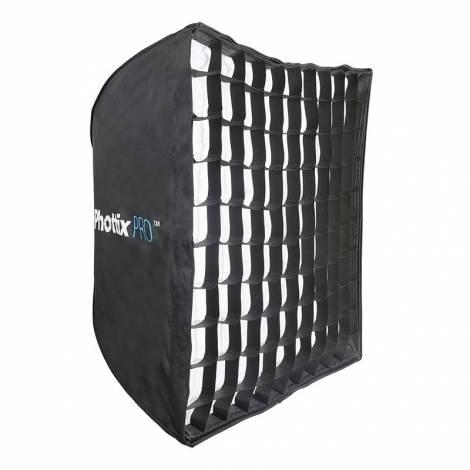 Phottix Pro Easy-Up HD Umbrella Softbox with Grid 90x90cm
