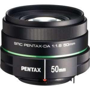 PENTAX Lens DA SMC 50m F1.8 Ricoh per pentax K