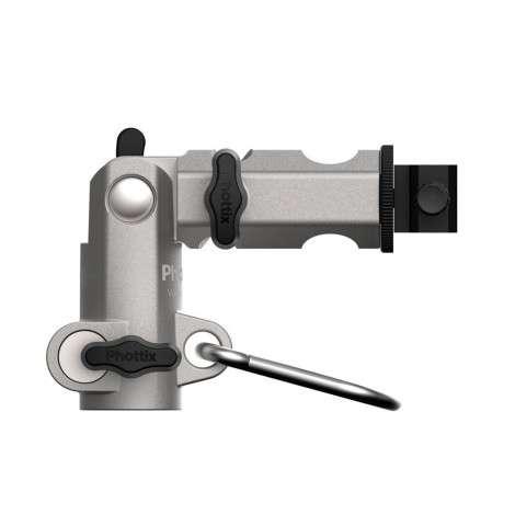 Phottix  VAROS Pro M portaombrelli e portaflash PROFESSIONALE Metallo Alta Qualità