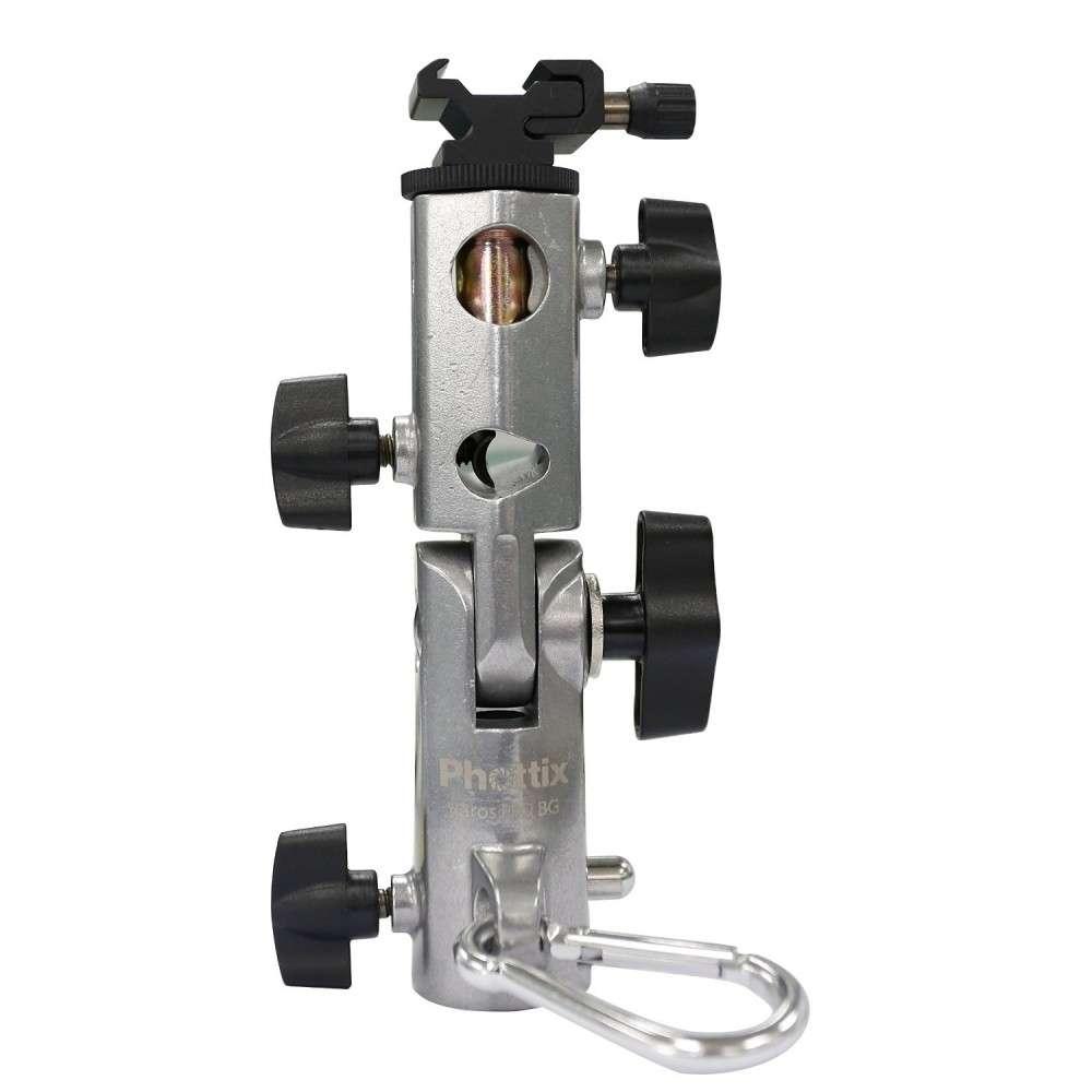Phottix  VAROS Pro BG portaombrelli e portaflash PROFESSIONALE Metallo Alta Qualità