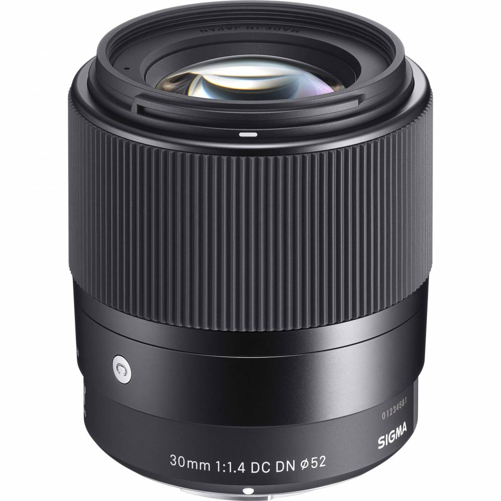 SIGMA 30mm Contemporary f1.4 DC DN for Sony E-Mount Garanzia Mtradig 3 anni