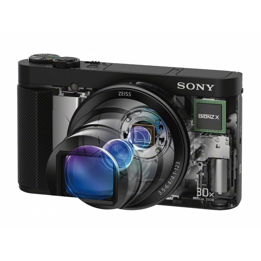 Sony DSC-HX90V Cyber-Shot HX-90 V GPS 4K Zeiss Wi-Fi | eBay