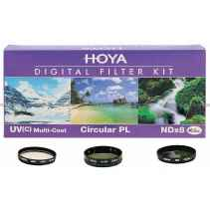 Hoya Digital Filter 40.5mm KIT 3 Filtri UV(c)  PL  ND 8 per Nikon J5 V2