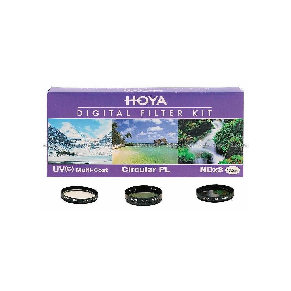 ND Filtro UV-Filtro Hoya Digital Filter Kit II 67mm POLARIZZATORE Borsa Filtri