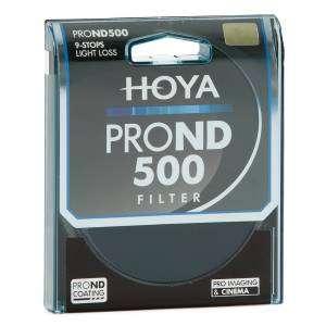 Filtro Hoya PRO ND500 9 stops 82mm light loss