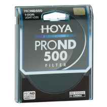 Filtro Hoya PRO ND 500 9 stops light loss 67mm diam