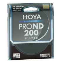 Filtro Hoya PRO ND 200 8 stops light loss 72mm diam