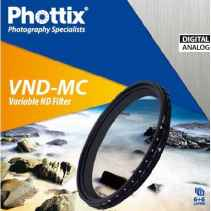 Phottix Filter 77mm ND Filtro a densità variabile VND-MC