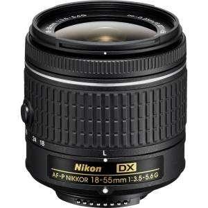 Nikon AF-P DX 18-55mm Zoom Nikkor F3.5-5.6 G Garanzia Nital 4 anni