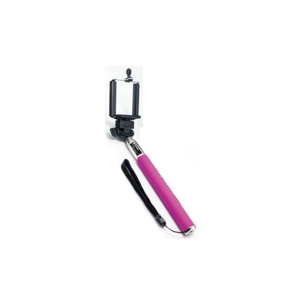 Braun Fun Selfie Stick Pink Asta a 7 Sezioni Allungabile Fino a 100 cm