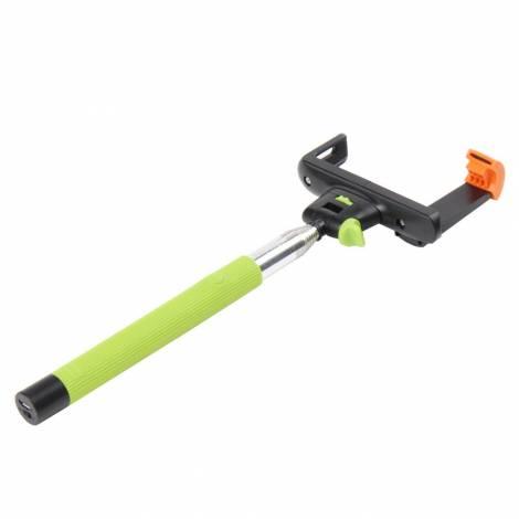 Braun Fun Selfie Stick Wireless con Asta a 7 Sezioni Allungabile Fino a 100 cm verde