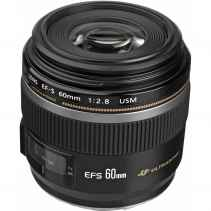 Canon EFS 60mm f2.8 MACRO USM Ultrasonic
