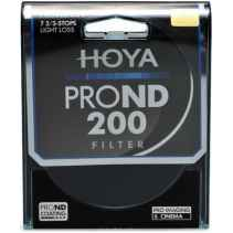 Filtro Hoya PRO ND 200 8 stops light loss 52mm diam