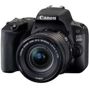 Canon EOS 200D Kit 18-55 IS STM Garanzia canonpass 4 Anni