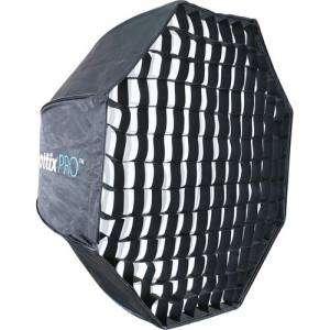"PHOTTIX Easy Up HD Umbrella Octa Softbox grid 8ocm  32"""
