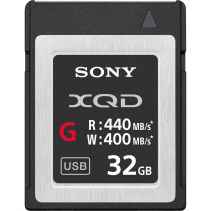 SONY XQD 32GB Memory Card G Series QD-G32E Read 440MB/s Write 400MB/s