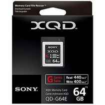 SONY XQD 64GB Memory Card G Series QD-G64E Read 440MB/s Write 400MB/s