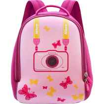 Nikon Zaino CS-L06 Neoprene Backpack for COOLPIX W100 S33 S32 Pink