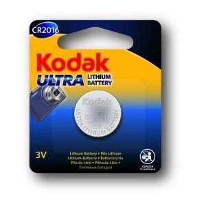 KODAK  Ultra CR2016 3V Lithium Battery