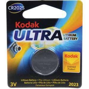 KODAK  Ultra CR2025 3V Lithium Battery