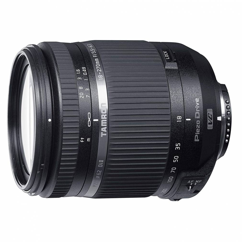 TAMRON 18-270mm F3.5-6.3 DI II VC PZD per Canon