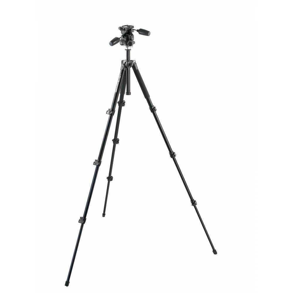 Manfrotto Tripod 294 to 4 Sections with Head to 3 ...