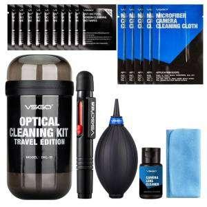 VSGO dkl-15 – Kit da viaggio per pulizia lenti