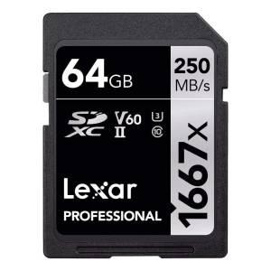 Lexar 64GB 1667X Pro UHS-II...