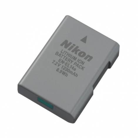 Batteria Nikon EN-EL14A ORIGINALE per Nikon DF  D5300 D3300 D3400 D3200 D5100 P7100 P7700