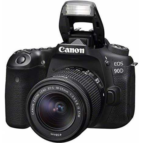 Canon EOS 90D Kit 18-55 IS STM EF-S Garanzia Canonpass