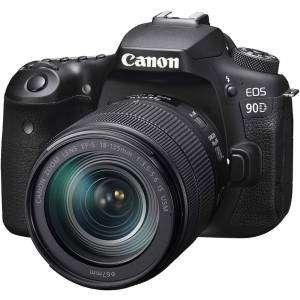 Canon EOS 90D Kit 18-135 IS USM EF-S Garanzia Canonpass
