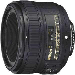 Nikon Obiettivo Nikkor 50mm f/1.8 G AF-S NITAL