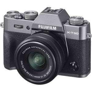 Fujifilm X-T30 Anthracite Kit XC 15-45 F3.5-5.6 OIS PZ Charcoal Silver