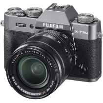 Fujifilm X-T30 Anthracite Kit XF 18-55 F2.8-4 R LM OIS Charcoal Silver