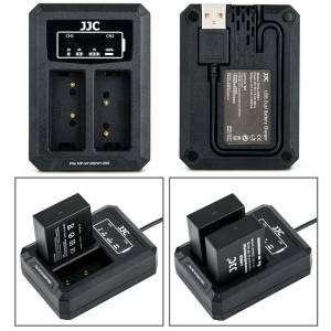 JJC carica batteria USB per NP-FW126 per Fujifilm