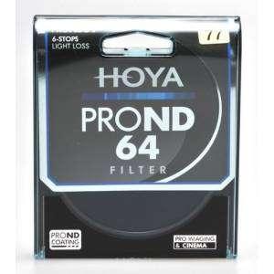 Filtro Hoya PRO ND64 6...