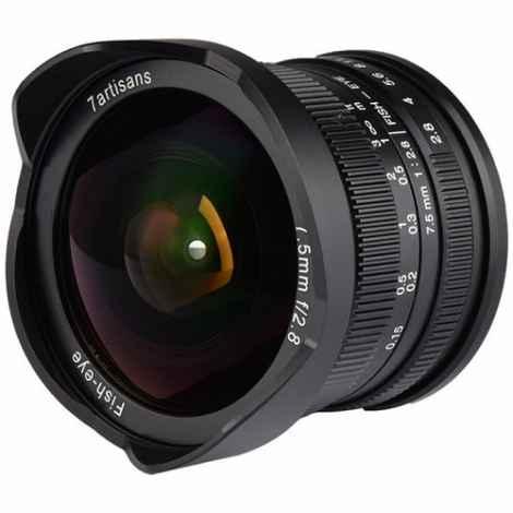 7ARTISAN LENS 7,5mm f2.8 for FUJIFILM X
