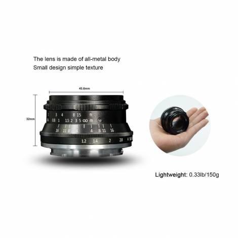 7ARTISAN LENS 35mm f1.2 for SONY E-Mount