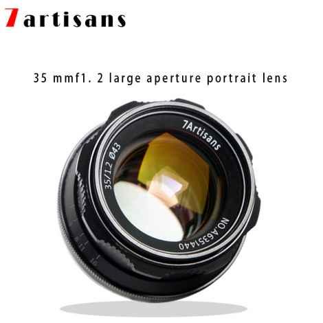 7ARTISAN LENS 35mm f1.2 FX Lens for FUJIFILM X APS-C