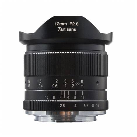 7ARTISAN LENS 12mm f2.8 for Fujifilm X