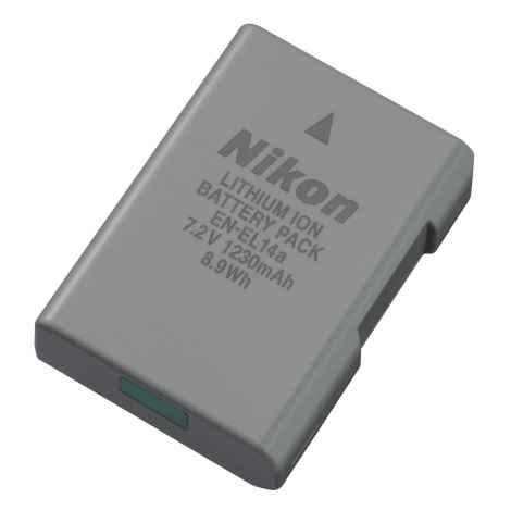 Batteria Nikon EN-EL14A ORIGINALE