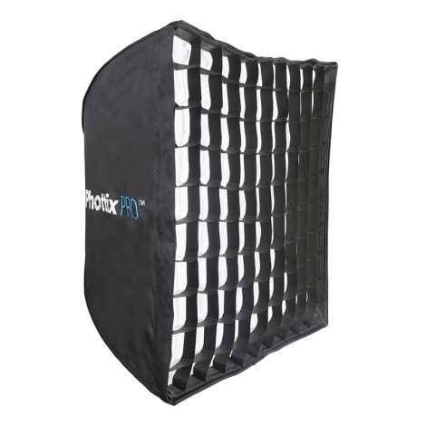 Phottix Pro Easy-Up HD Umbrella Softbox with Grid 70x70cm